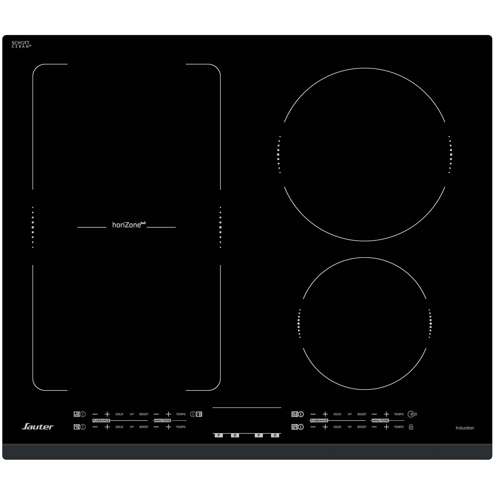 Comparatif Plaque Mixte Induction Gaz plaque induction spi4664b - sauter électroménager